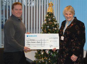 VIP Donates to local children's charity