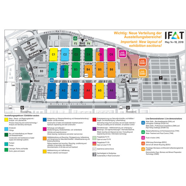 IFAT Map